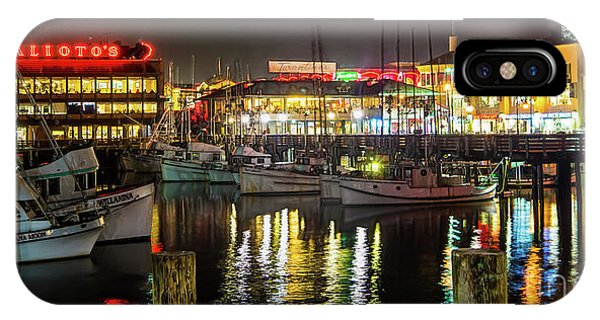 San Francisco's Fisherman's Wharf IPhone Case