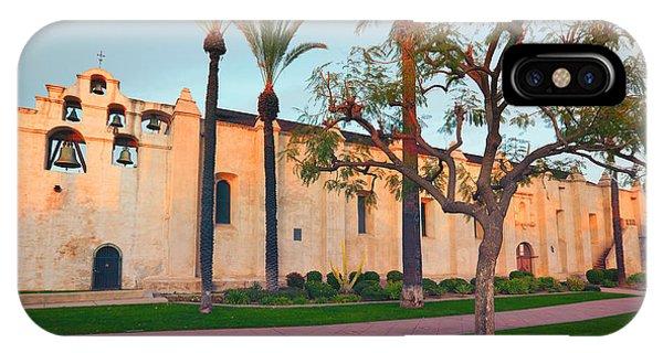 San Gabriel Mission California IPhone Case