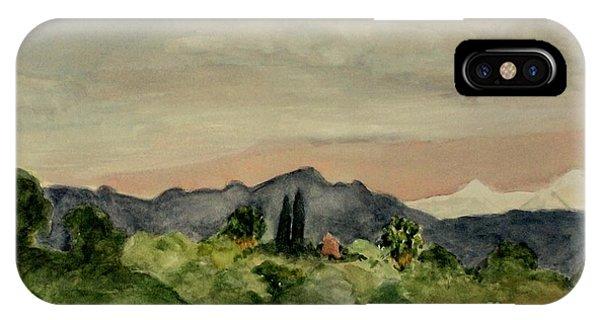 San Gabriel Mountains IPhone Case