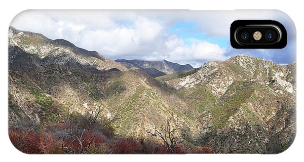 San Gabriel Mountains National Monument IPhone Case