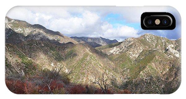 San Gabriel Mountains National Monument IPhone Case