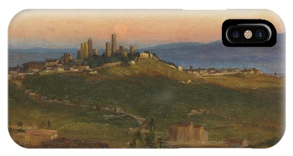 San Gimignano, 1898 IPhone Case