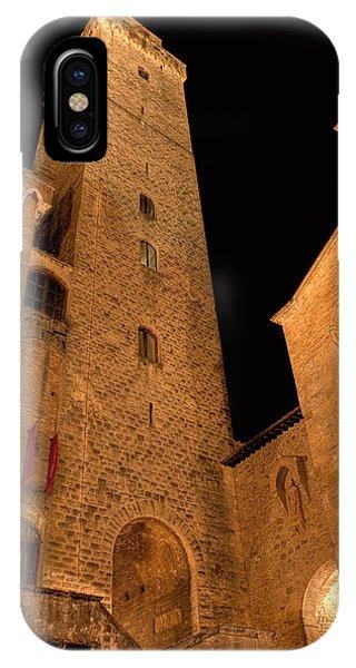 San Gimignano IPhone Case