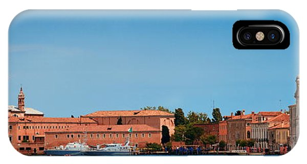 IPhone Case featuring the photograph San Giorgio Maggiore Church Panorama by Songquan Deng