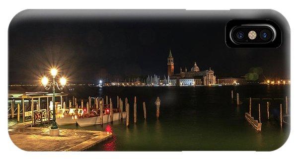 San Giorgio Maggiori At Night IPhone Case