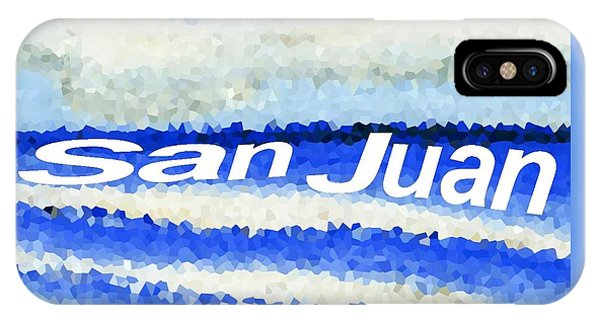 San Juan  IPhone Case