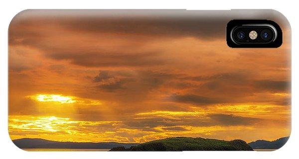 San Juan Islands Golden Hour IPhone Case