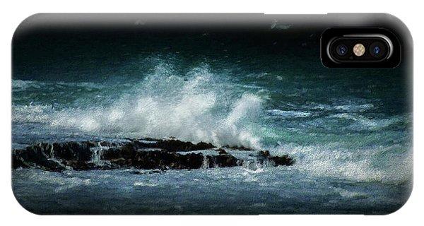 Navigation iPhone Case - San Juan Waves by Marvin Spates