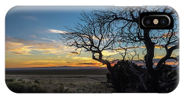 San Luis Valley Sunset - Colorado IPhone Case