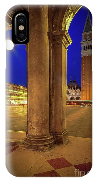 San Marco At Night IPhone Case