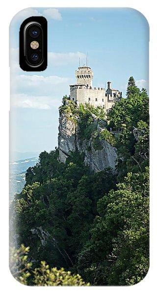 San Marino - Guaita Castle Fortress IPhone Case