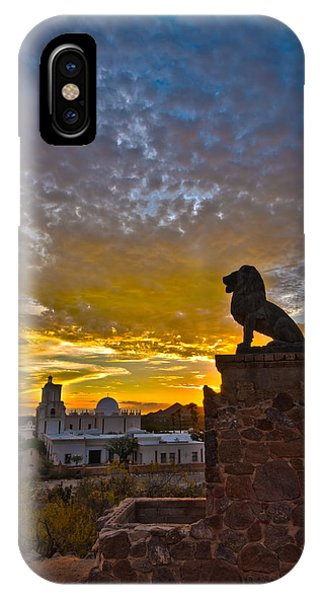 San Xavier Guardian IPhone Case