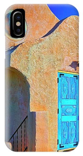 San Ysidro Catholic Church, San Yisidro, New Mexico IPhone Case