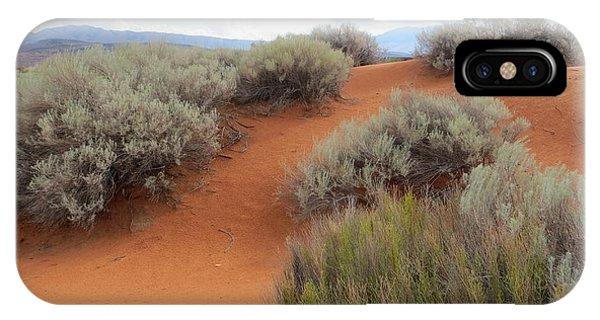 Sand And Sagebrush IPhone Case