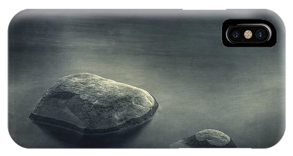 Meditative iPhone Case - Sand And Water by Scott Norris