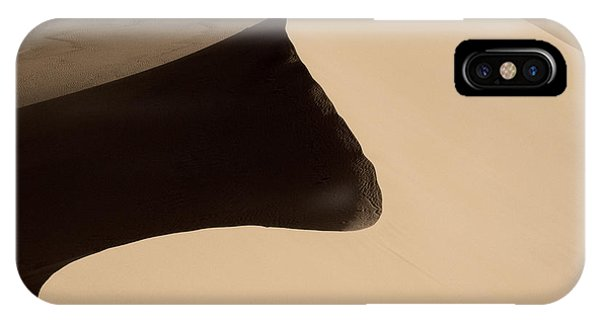 Death Valley iPhone Case - Sand by Chad Dutson