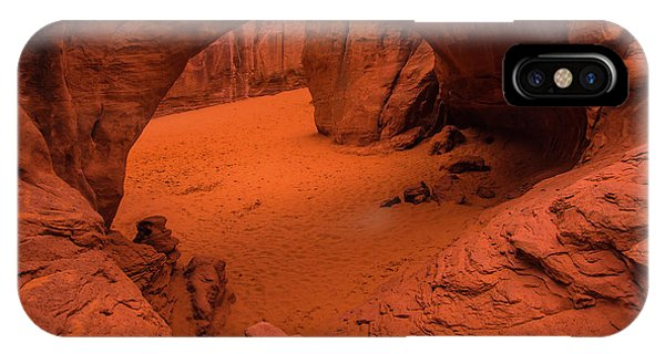 Sand Dune Arch - Arches National Park - Utah IPhone Case