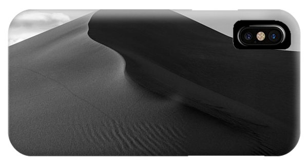 Sand Dune Beetle Tracks IPhone Case