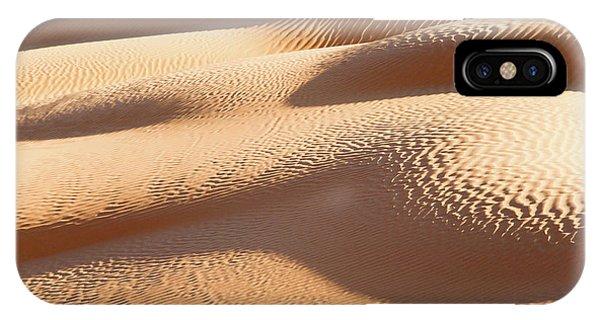 Caravan iPhone Case - Sand Dunes 1 by Delphimages Photo Creations