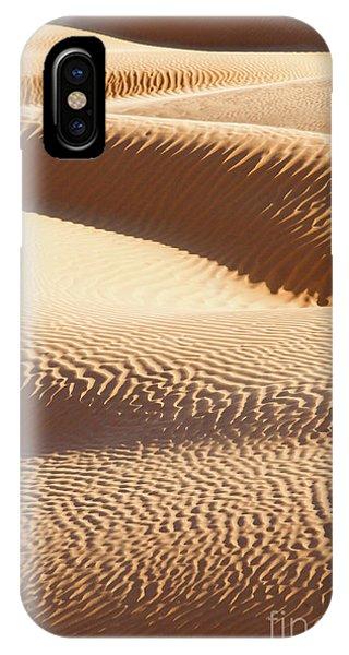 Caravan iPhone Case - Sand Dunes 2 by Delphimages Photo Creations