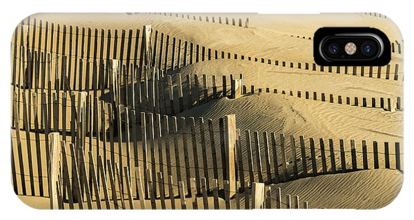 Sand Dunes Of The Outer Banks IPhone Case