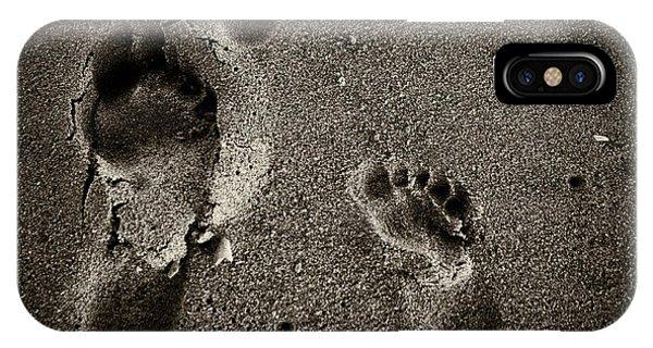 Sand Feet IPhone Case
