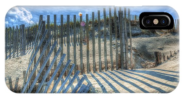 Sand Fence IPhone Case