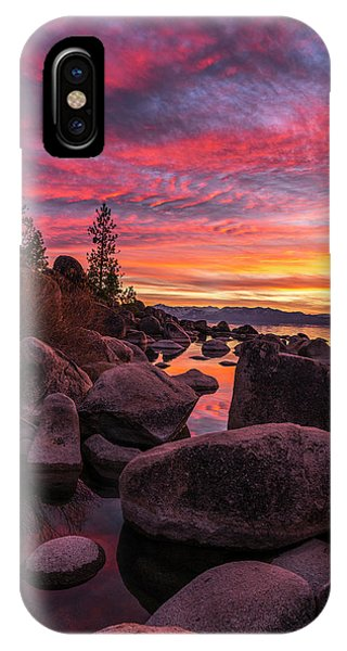 Sand Harbor Beach IPhone Case