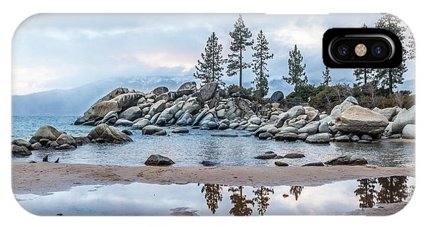 Sand Harbor IPhone Case