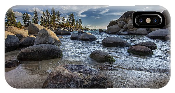 Sand Harbor II IPhone Case