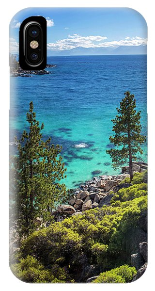 Sand Harbor Lookout By Brad Scott - Square IPhone Case