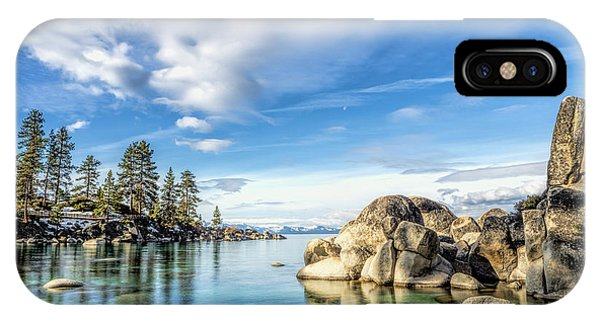 Sand Harbor Morning IPhone Case