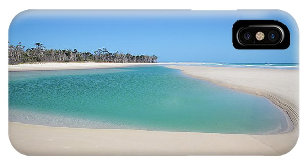 Sand Island Paradise IPhone Case