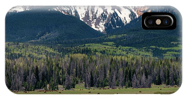 Sand Mountain From Steamboat Lake IPhone Case