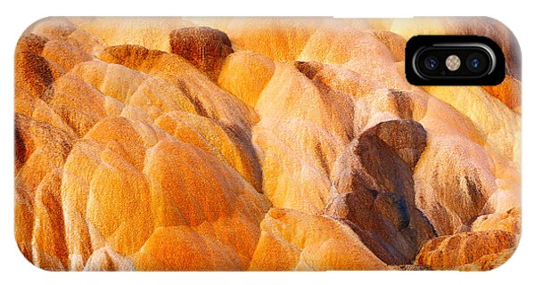 Mammoth Hot Springs iPhone Case - Sand Sculpture by Todd Klassy