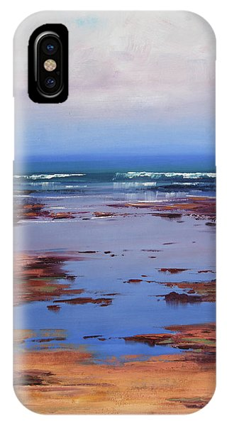 Nature Scene iPhone Case - Sand Sea And Sky by Graham Gercken