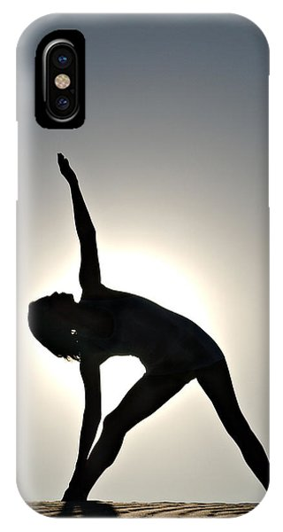 Sand Yoga IPhone Case