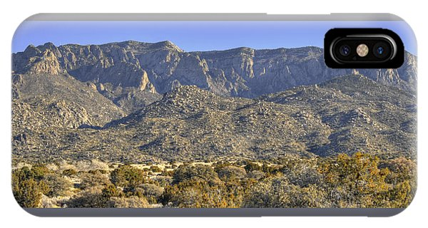 Sandia Mountain Panorama IPhone Case