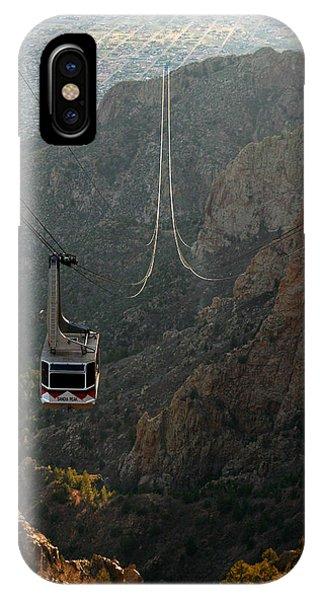 Sandia Peak Cable Car IPhone Case