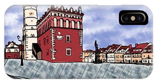Sandomierz City IPhone Case