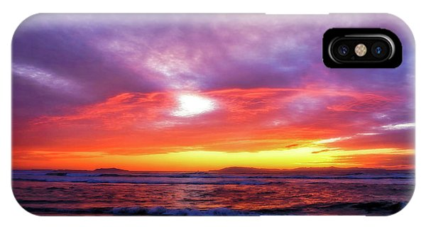 Sandpiper Sunset Ventura California IPhone Case