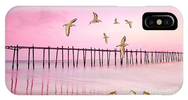Sandpiper Sunset IPhone Case