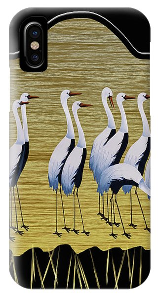 Sandpipers II IPhone Case