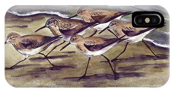 Sandpipers IPhone Case