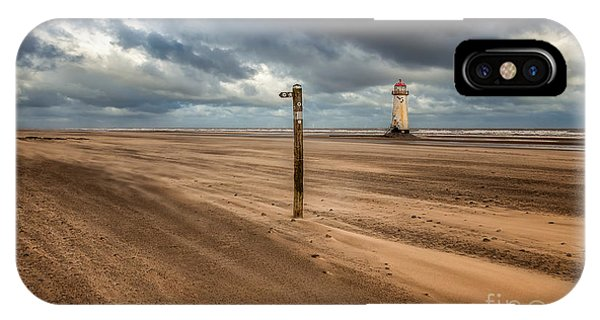 Navigation iPhone Case - Sands Of Time by Adrian Evans