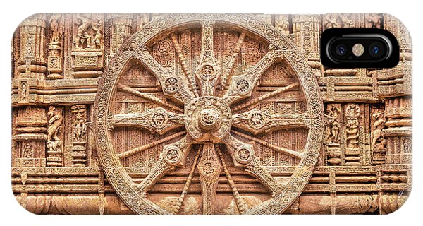 Sandstone Wheel - Hdr IPhone Case
