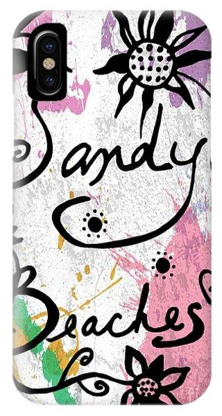 Sandy Beaches IPhone Case