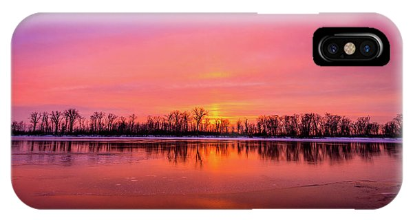 IPhone Case featuring the photograph Sandy Chute Sunset by Matthew Chapman
