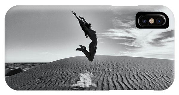 Sandy Dune Nude - The Jump IPhone Case