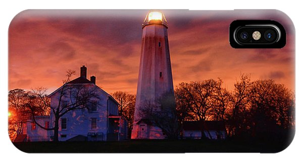 Sandy Hook Lighthouse IPhone Case